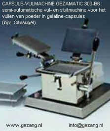 Capsule loader & filler for gelatine capsules, hand operated.
